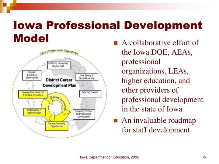 Iowa Professional Development Model