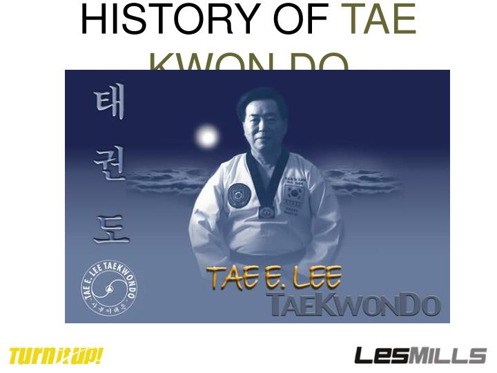 history of tae kwon do n.