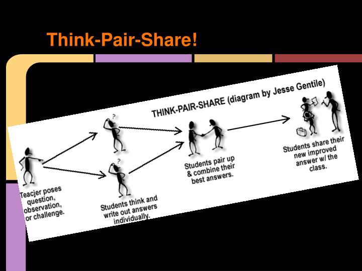 Think-Pair-Share!