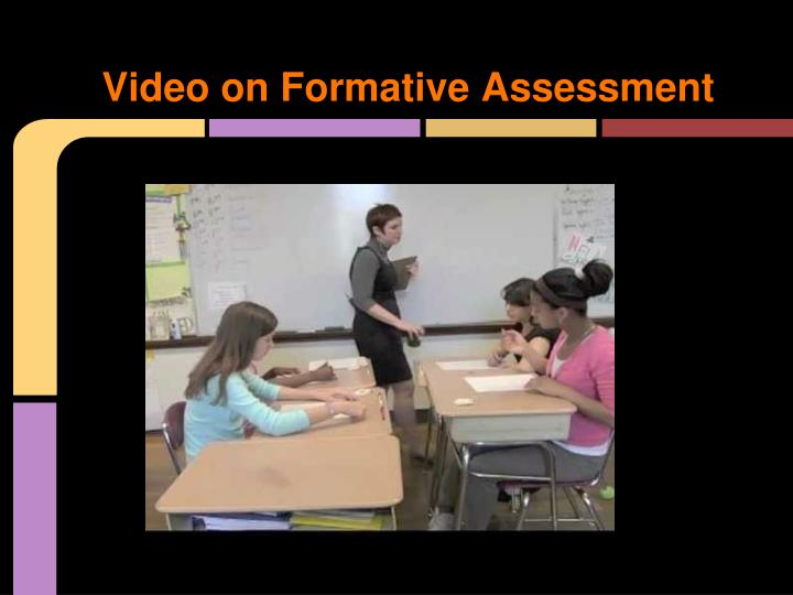 Video on Formative Assessment