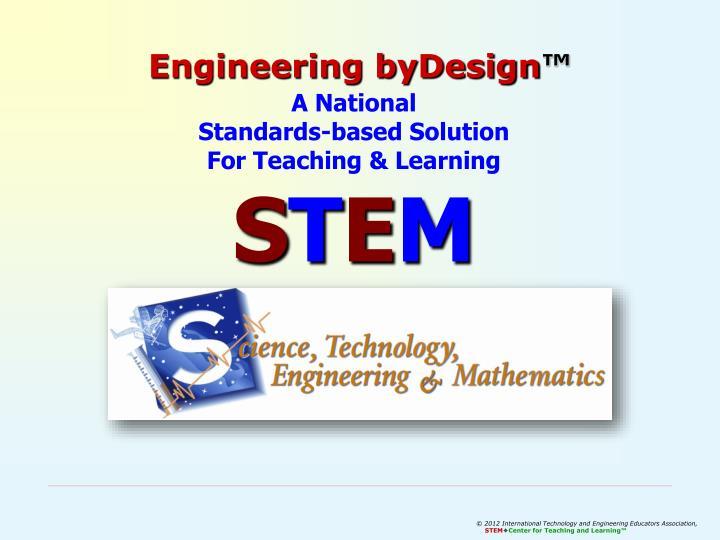 Engineering byDesign