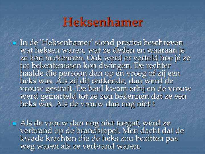 Heksenhamer