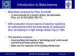 introduction to beta beams