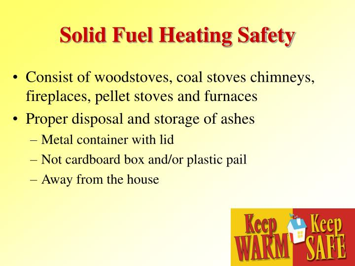 Solid Fuel Heating Safety