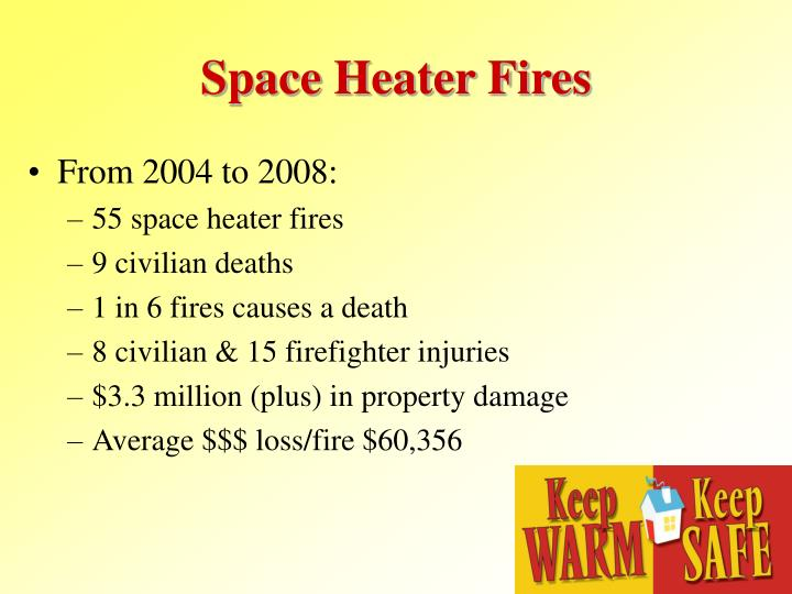 Space Heater Fires