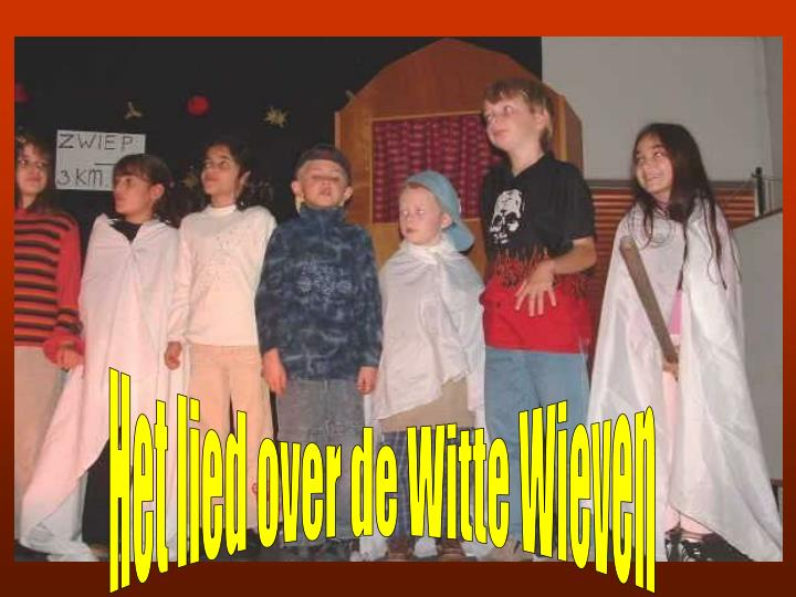 Het lied over de Witte Wieven