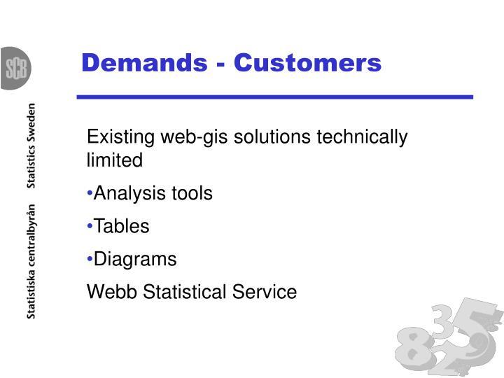 Demands - Customers