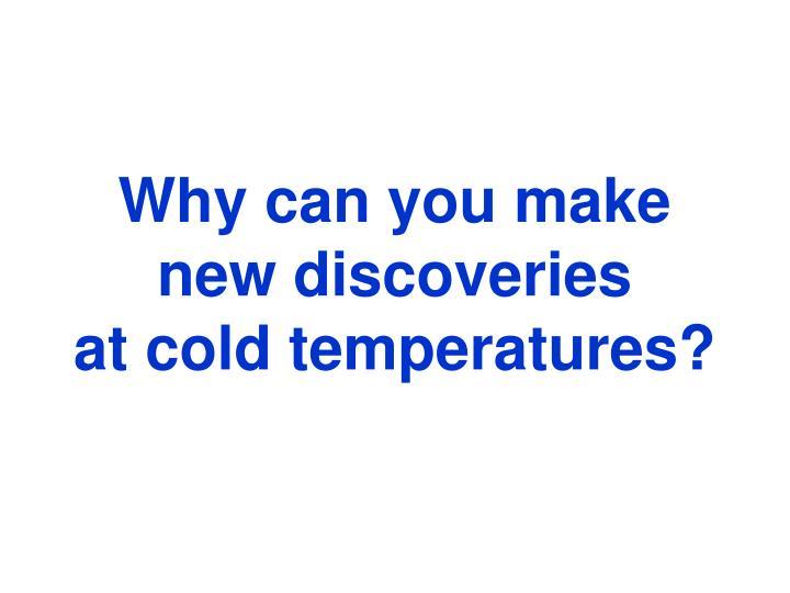 Nanokelvin temperatures