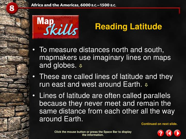 Reading Latitude