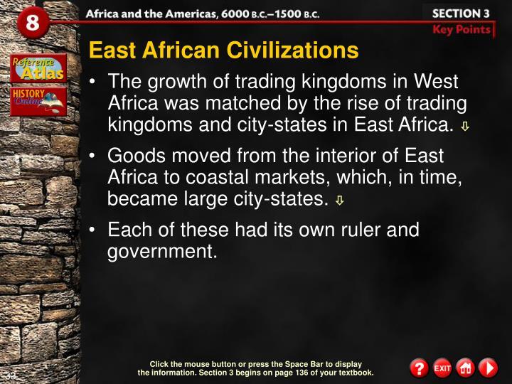 East African Civilizations