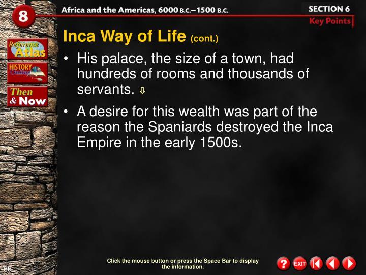 Inca Way of Life