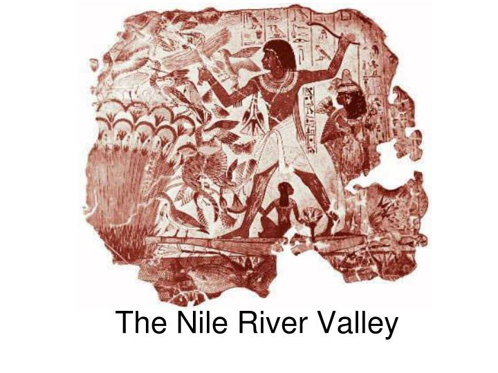 the nile river valley n.