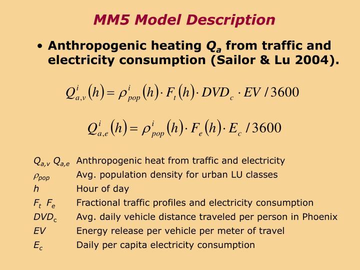 MM5 Model Description