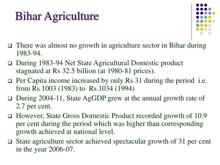 Bihar Agriculture
