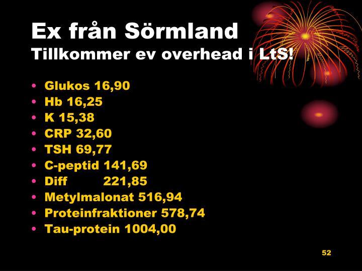 Ex från Sörmland