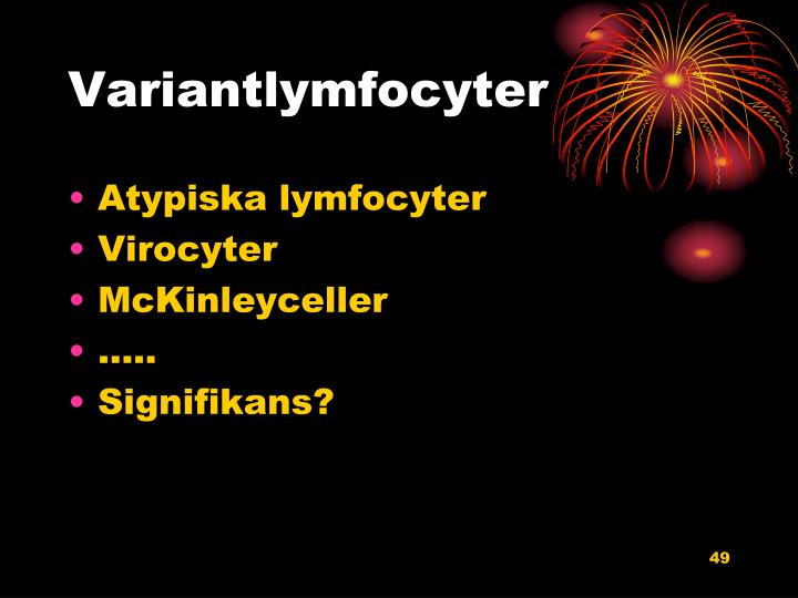 Variantlymfocyter
