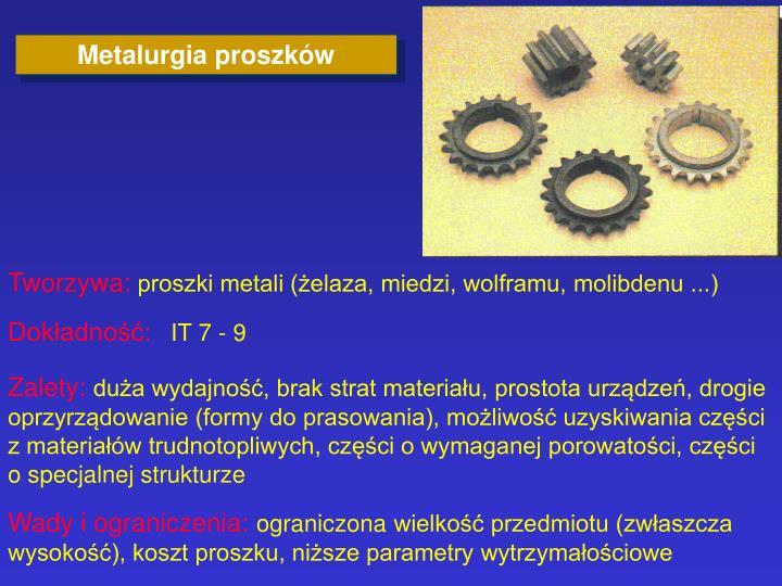 Metalurgia proszków
