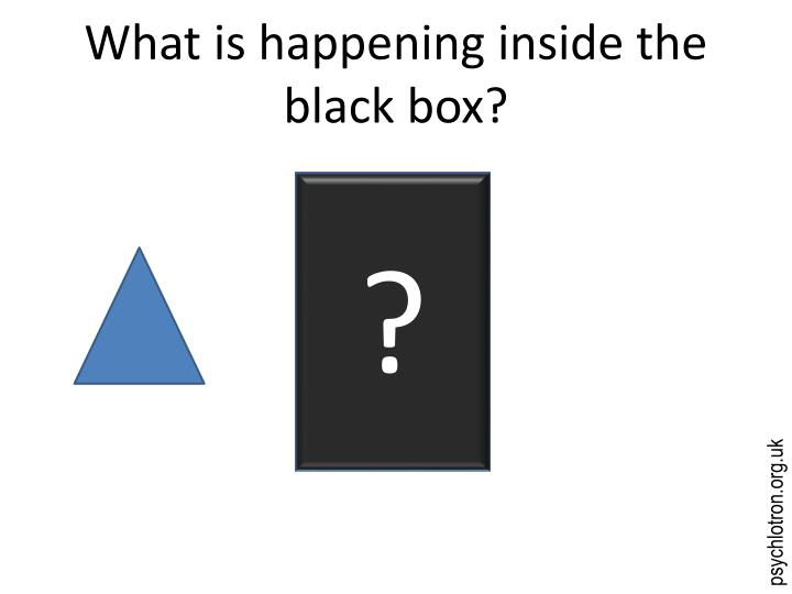 what is happening inside the black box n.