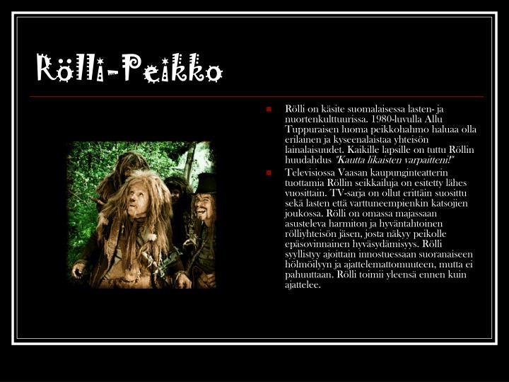 Rölli-Peikko