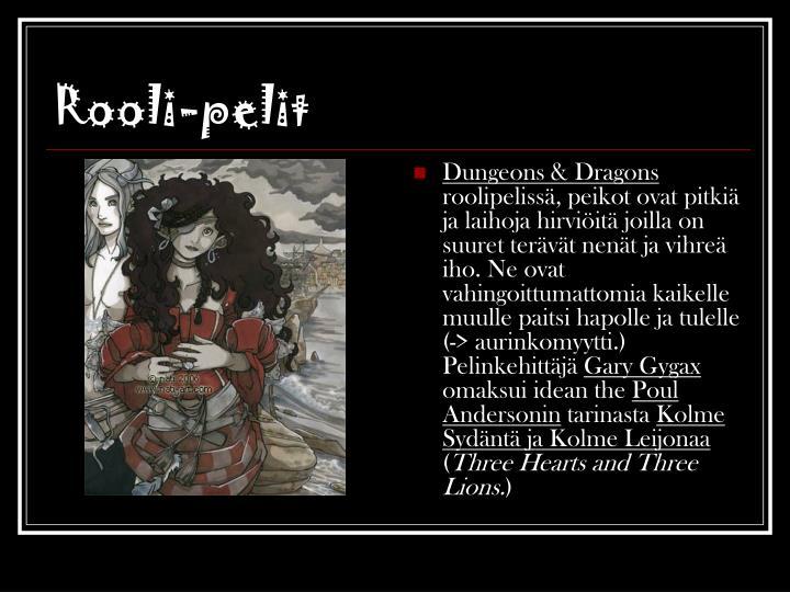 Rooli-pelit