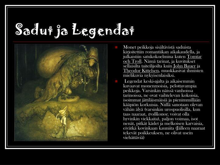 Sadut ja Legendat
