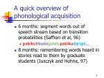 a quick overview of phonological acquisition2