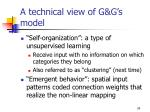 a technical view of g g s model