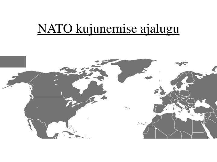 NATO kujunemise ajalugu