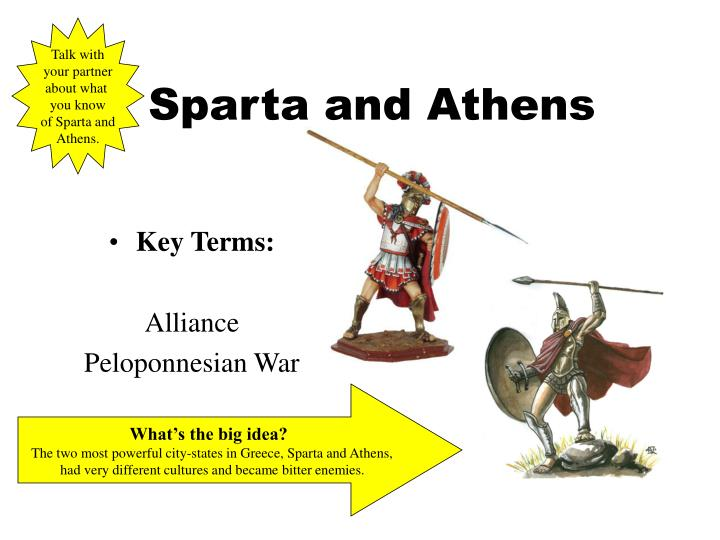 essay on athens and sparta