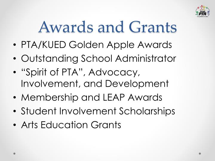 Awards and Grants