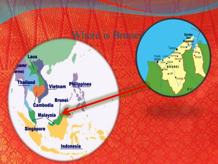 PPT Negara Brunei Darussalam PowerPoint Presentation ID - Where is brunei