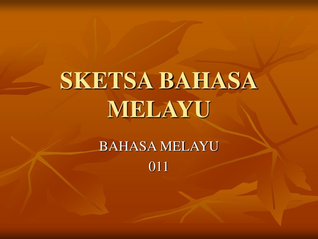 PPT SKETSA BAHASA MELAYU PowerPoint Presentation Free