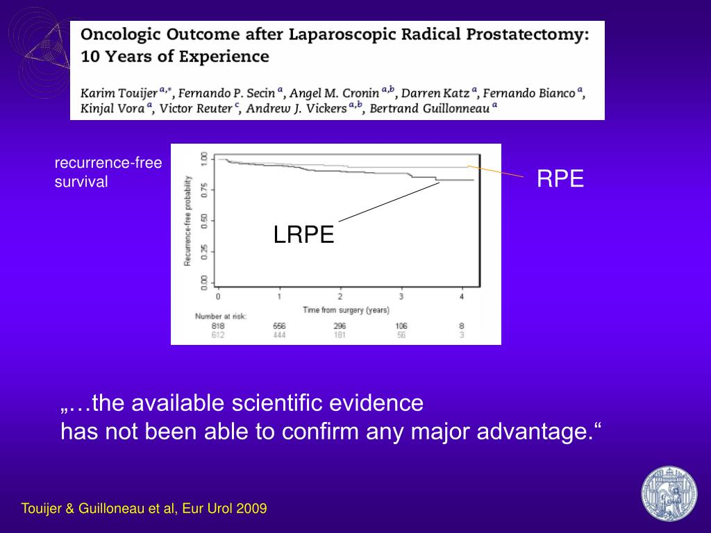 PPT - Open vs laparoscopic vs robotic radical prostatectomy