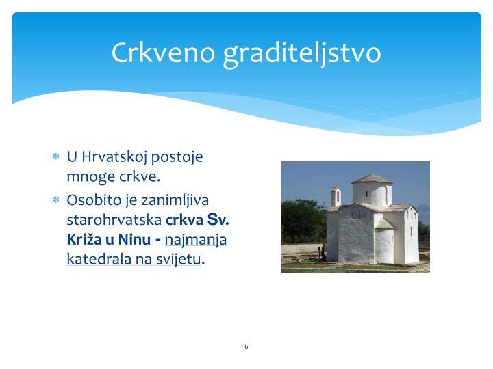 Crkveno graditeljstvo