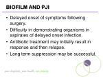 biofilm and pji1