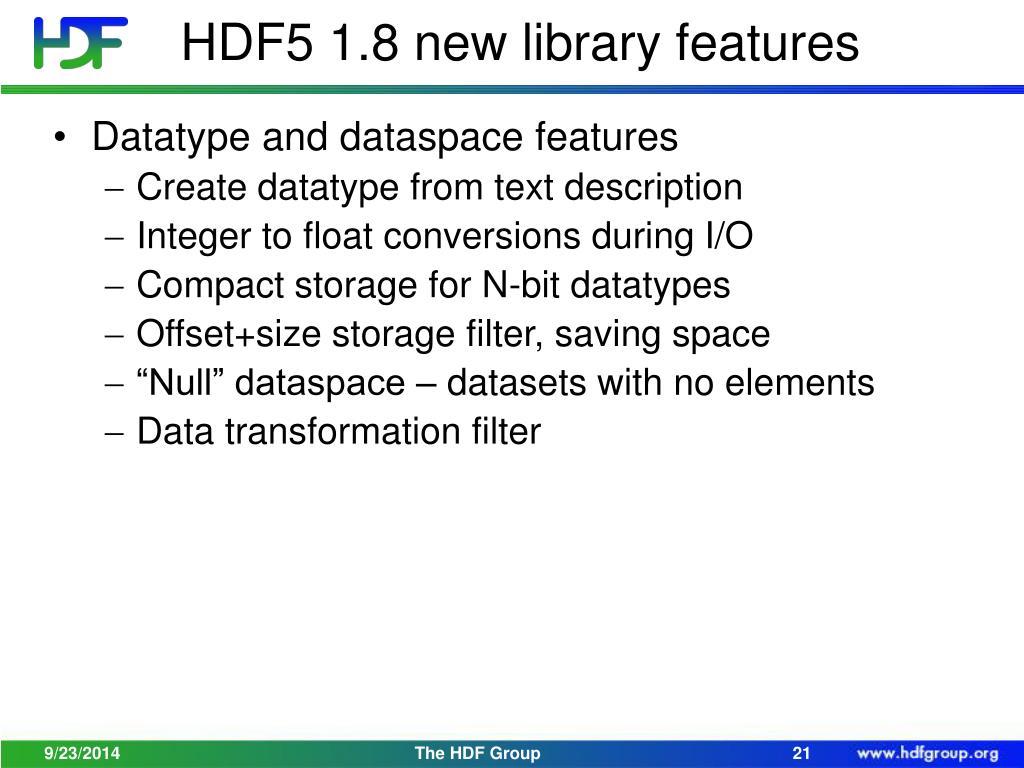 PPT - HDF Update PowerPoint Presentation - ID:4725917