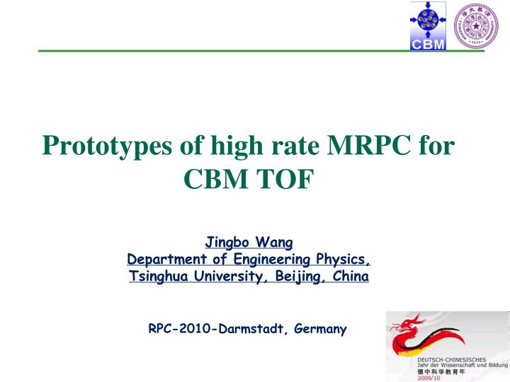 Prototypes of high rate mrpc for cbm tof