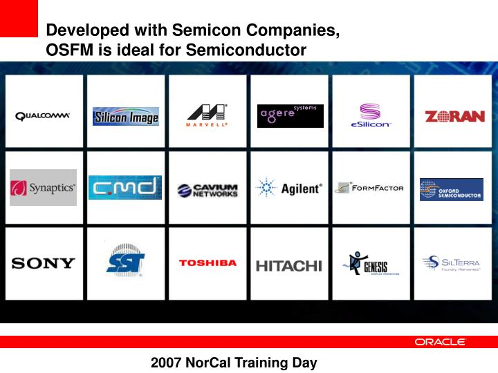 Developed with Semicon Companies,
