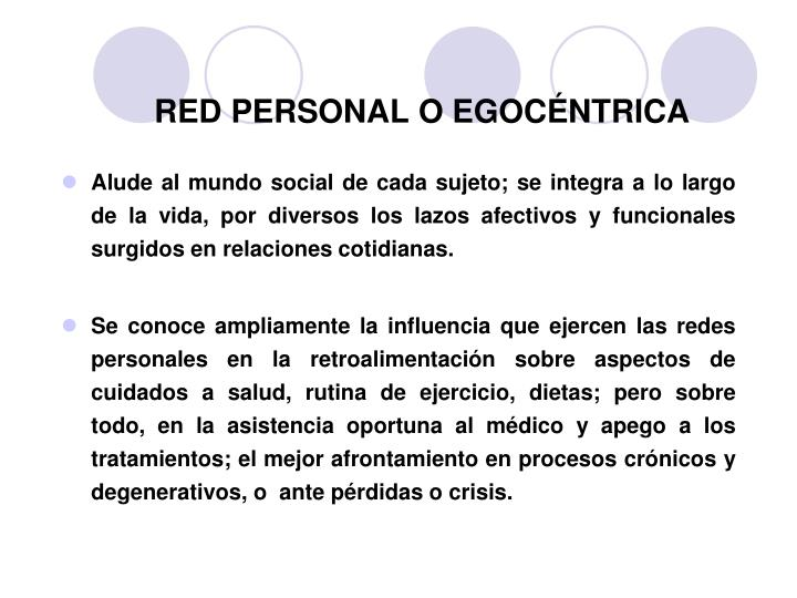 RED PERSONAL