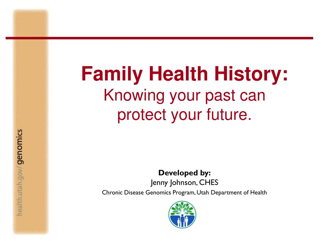 role of family in health and disease ppt