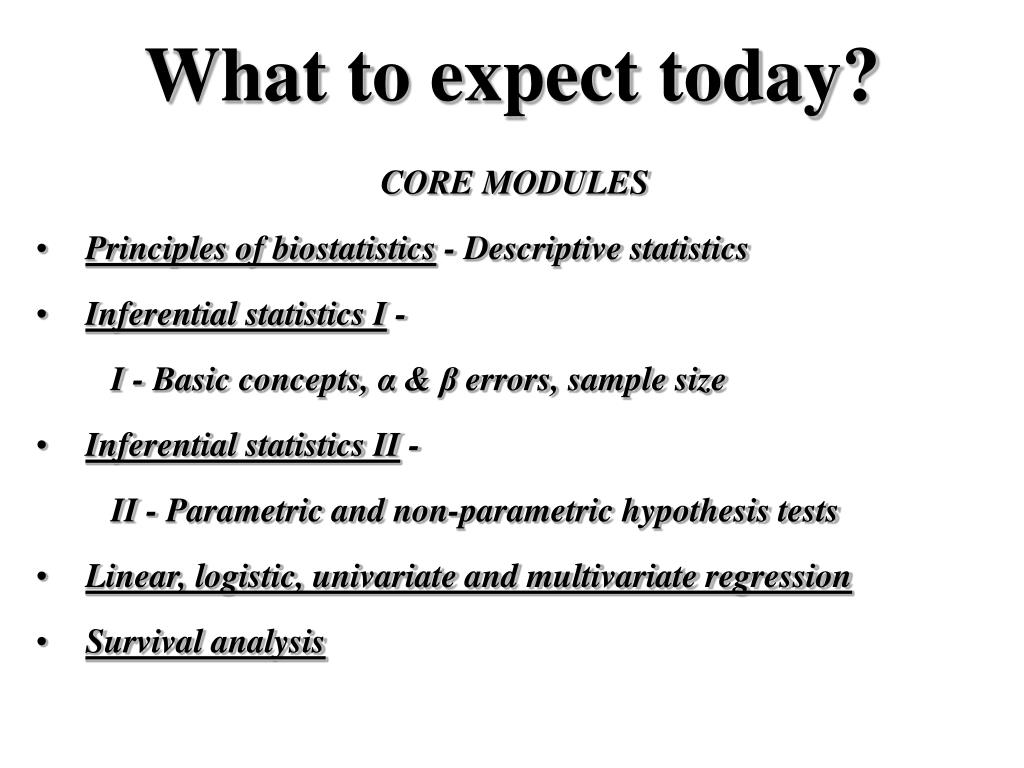 PPT - Nuts and bolts of biostatistics PowerPoint