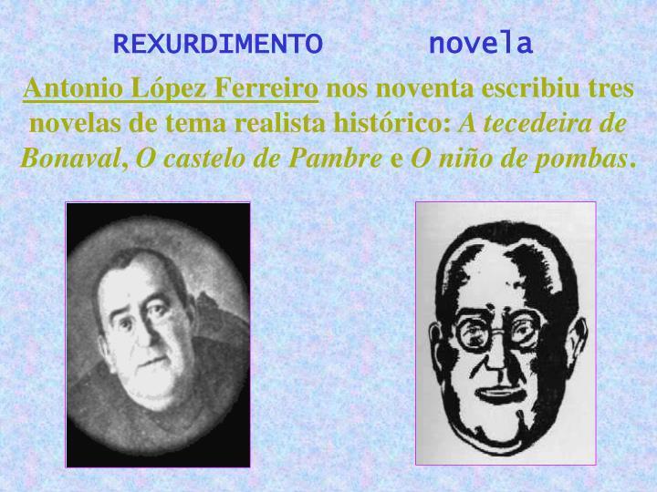 REXURDIMENTO      novela