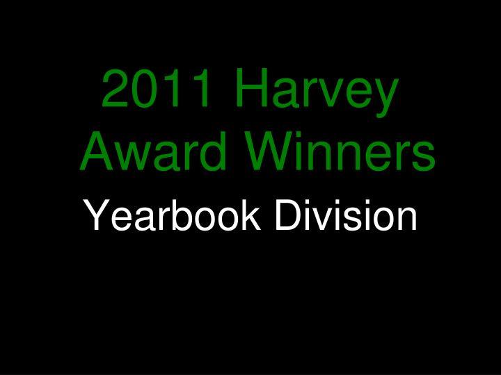 2011 Harvey