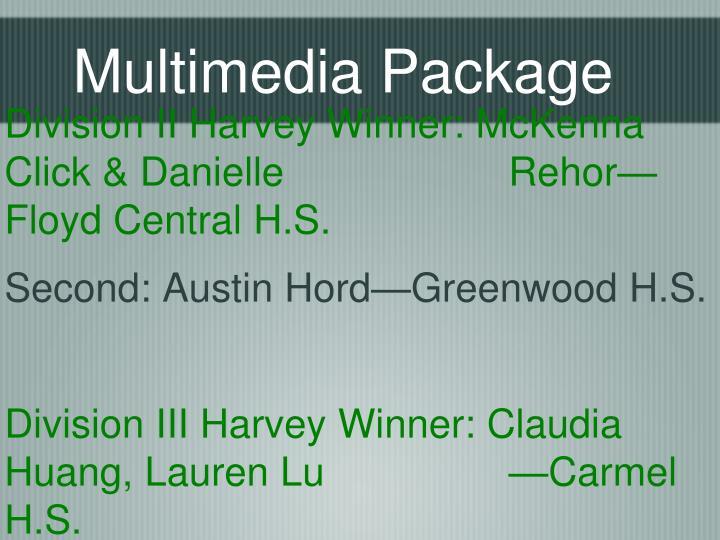 Multimedia Package