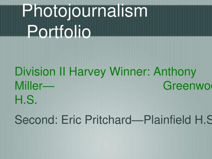 Photojournalism Portfolio