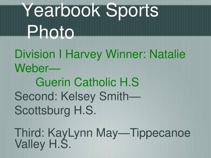 Yearbook Sports Photo