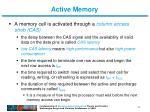 active memory5