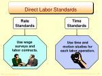 direct labor standards