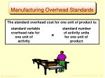 manufacturing overhead standards1