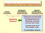 manufacturing overhead variances3